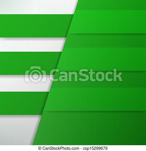 bannière, conception, gabarit - csp15299679