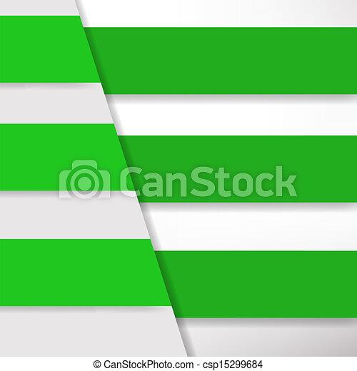 bannière, conception, gabarit - csp15299684