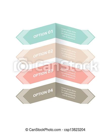 bannière, conception, options, spécial - csp13823204