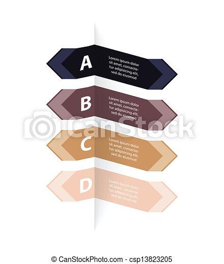 bannière, conception, options, spécial - csp13823205