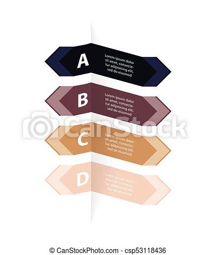 bannière, conception, options, spécial - csp53118436