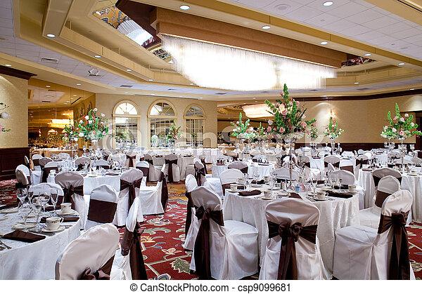 Banquet hall - csp9099681
