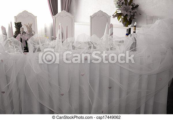 Banquet hall - csp17449062