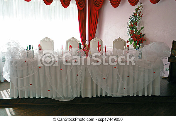 Banquet hall - csp17449050