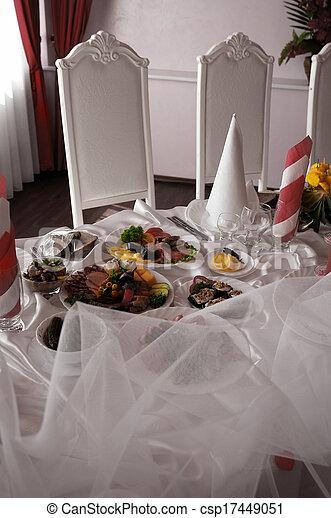 Banquet hall - csp17449051