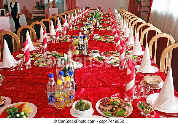 Banquet hall - csp17449052