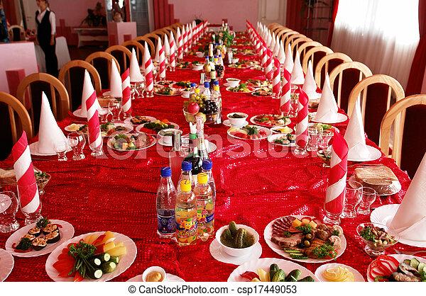 Banquet hall - csp17449053