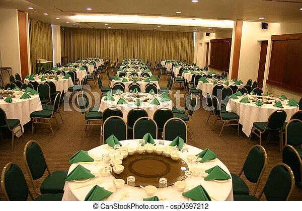Banquet Hall - csp0597212