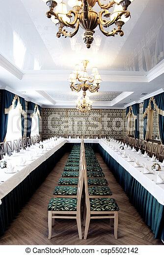 banquet hall  - csp5502142