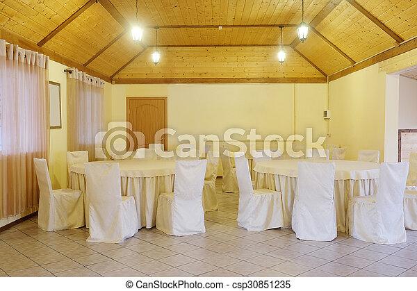 Banquet hall - csp30851235