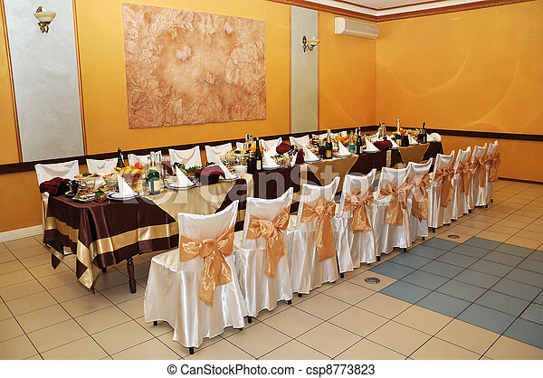 banquet hall - csp8773823