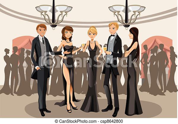 Banquet party - csp8642800