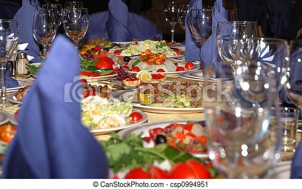 banquet table - csp0994951