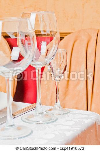 Banquet table - csp41918573