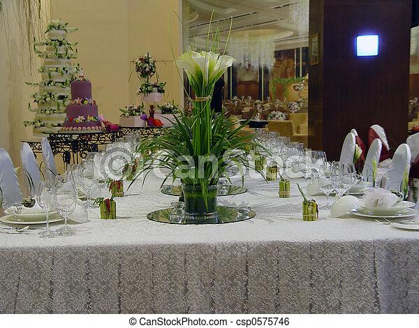 BANQUET TABLE  - csp0575746
