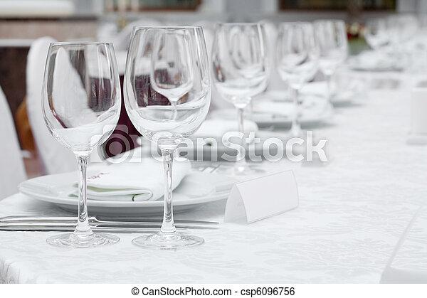 Banquet table - csp6096756