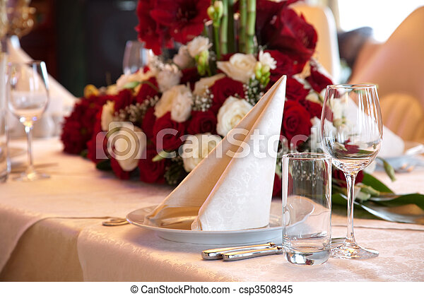 BANQUET TABLE - csp3508345