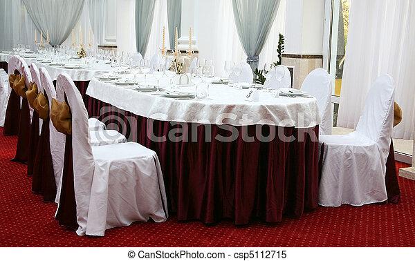 Banquet table - csp5112715