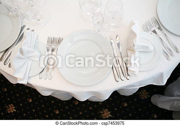 Banquet table - csp7453975