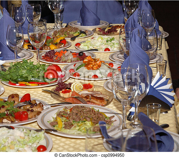 banquet table  - csp0994950