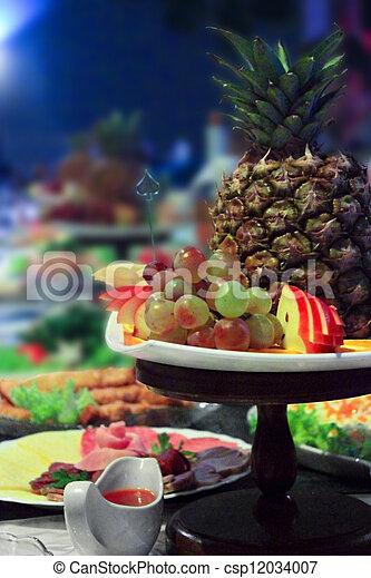 banquet table - csp12034007