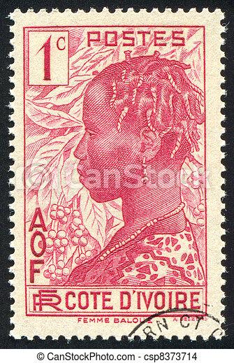 Baoule Woman - csp8373714