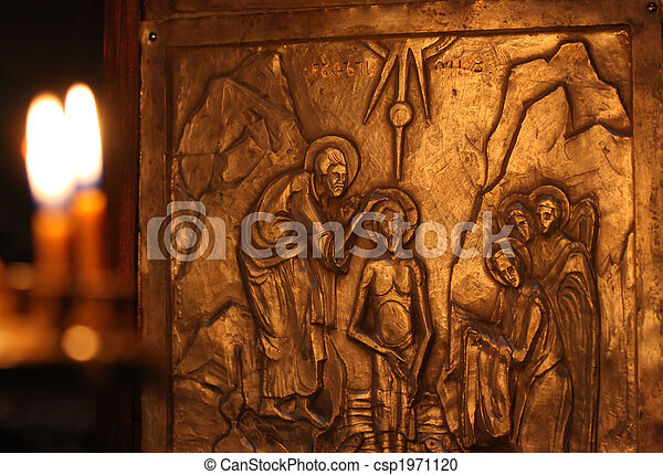 Baptism by Saint John - csp1971120