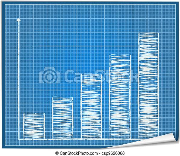 Bar graph blueprint - csp9626068