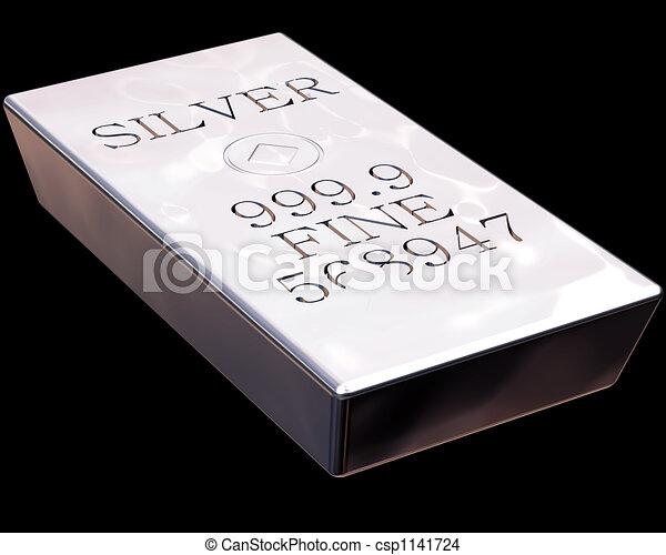 Bar of Silver - csp1141724