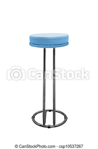 Bar stool isolated on white background - csp10537267