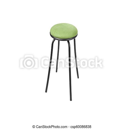 Bar stool isolated on white background - csp60086838