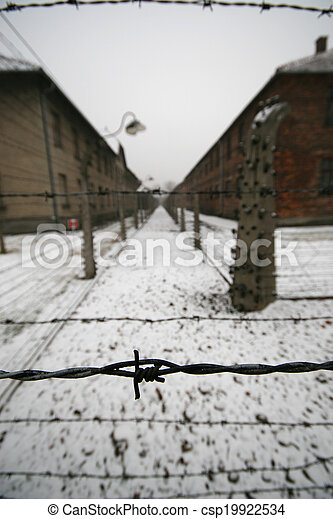 Barb wire in a wwii german prisoner camp stock photos - Search ...