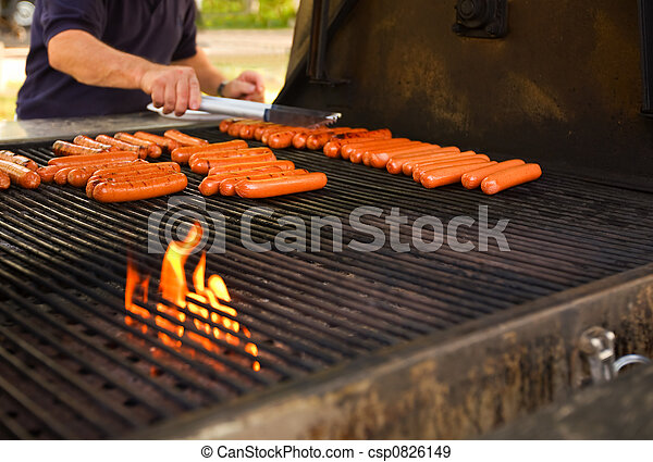 barbecue, cookout - csp0826149
