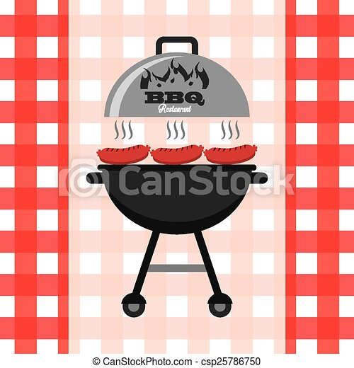 barbecue, délicieux - csp25786750