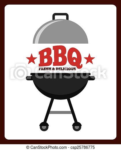 barbecue, délicieux - csp25786775