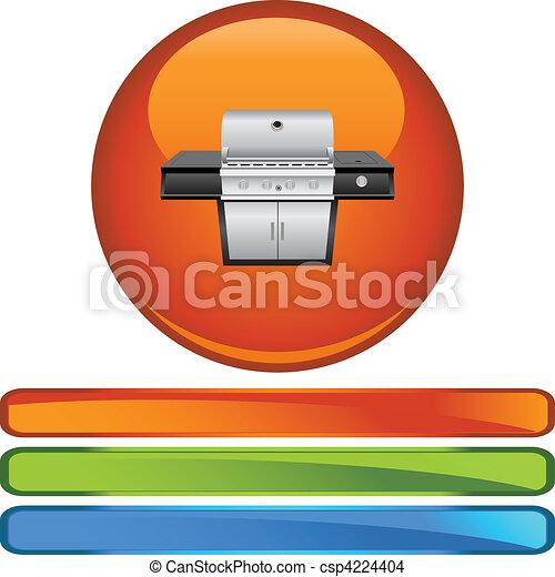 Barbecue - csp4224404