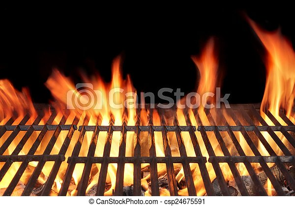 Barbecue Fire Grill - csp24675591