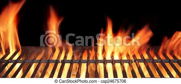 Barbecue Fire Grill - csp24675706