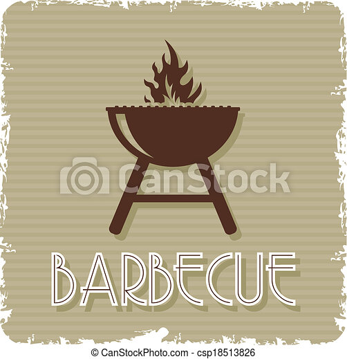 barbecue grill - csp18513826