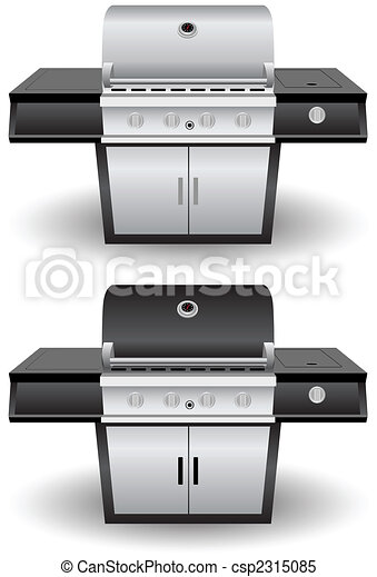 Barbecue Grill Set - csp2315085