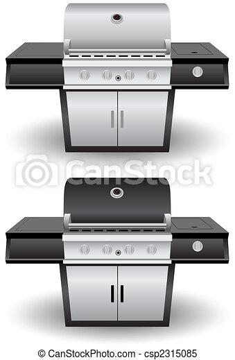 Barbecue Grill Set - csp2315085