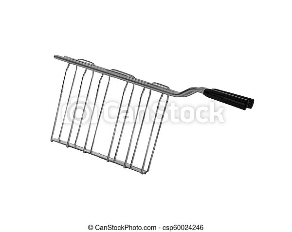 Barbecue hand tool isolated on white background - csp60024246