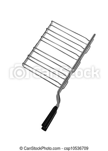 Barbecue hand tool isolated on white background - csp10536709