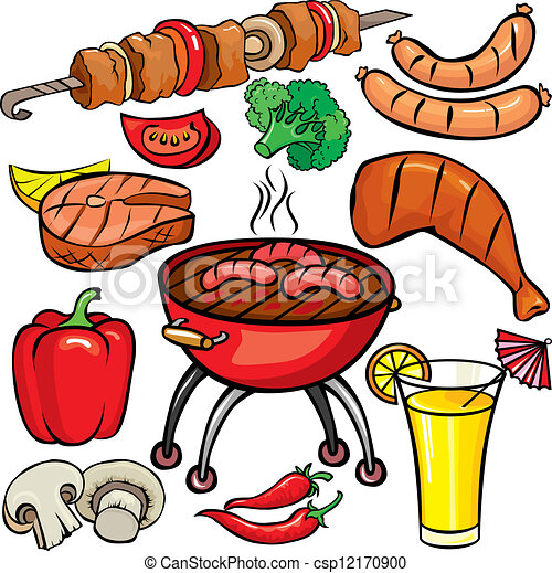 barbecue illustrations and clip art 29 759 barbecue royalty free rh canstockphoto com barbecue clipart images free barbecue clipart images