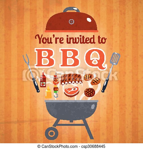 barbecue invitation event advertisement poster barbecue bbq party