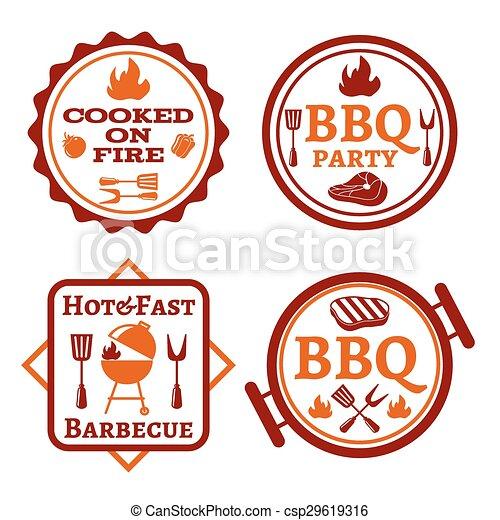 Barbecue logo - csp29619316