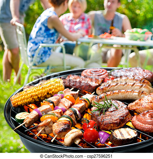 Barbecue party - csp27596251