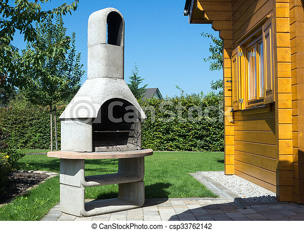 Barbecue Pierre Barbecue Jardin Pierre - Barbecue de jardin en pierre