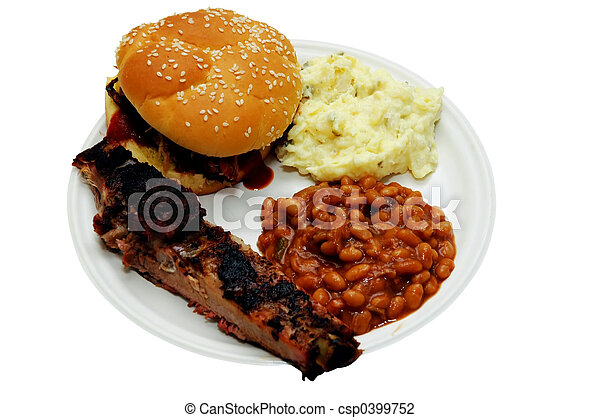 Barbecue Plate - csp0399752