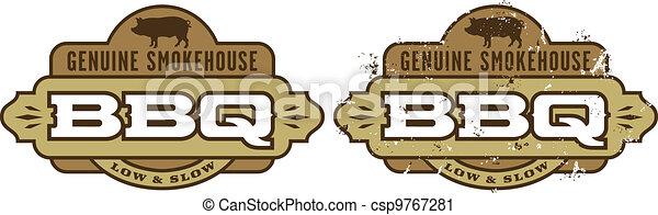 Barbecue Symbol/Icon - csp9767281